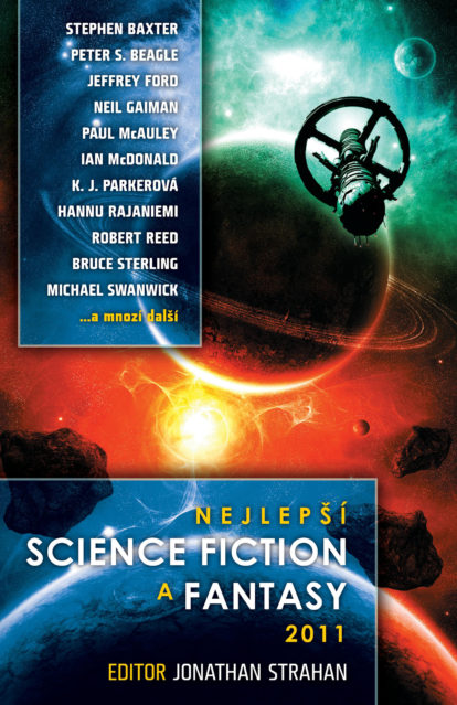 Jonathan Strahan sest. Nejlepší science fiction a fantasy 2011
