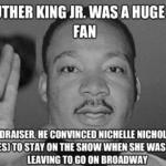 Díky dr. Kingovi nám ve ST zůstala Uhura